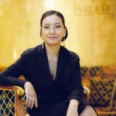 Leila Khrapunova, president of VILED company, city of Almaty, 2003
