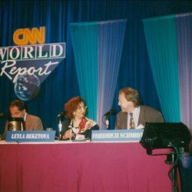 CNN World Report Contributors Conference, USA, Atlanta, 1993