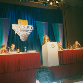 CNN World Report Contributors Conference Speaker, USA, Atlanta, 1993