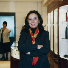 Opening a VILED boutique, Panfilov street, Almaty 2002