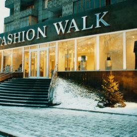 Multibrand boutique Fashion Walk, city of Almaty