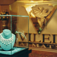 Presentation of De Grisogono Fawaz Gruosi collection, Leila Khrapunova, InterContinental Hotel, Almaty