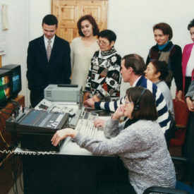 TAN Television Company journalists, 1997