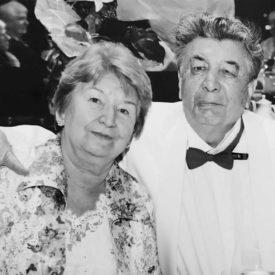 Rasilya and Kalibek Daniyarovs – 50 years of marriage, golden wedding anniversary, the city of Almaty, 2008