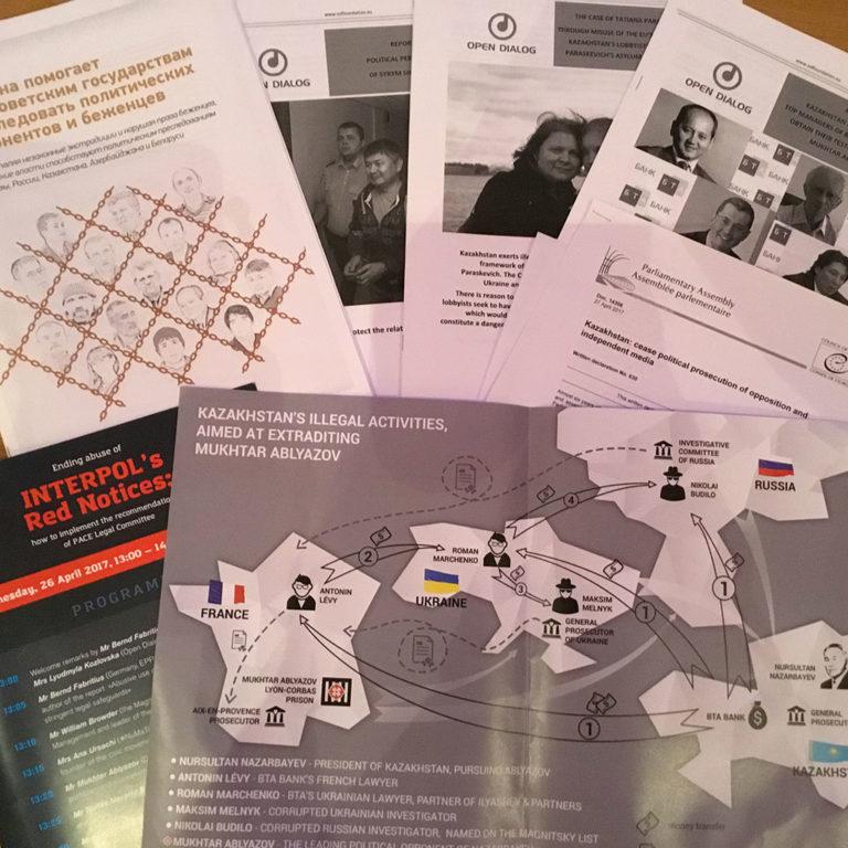 Le gouvernement du Kazakhstan utilise Interpol pour poursuivre les dissidents politiques en Europe