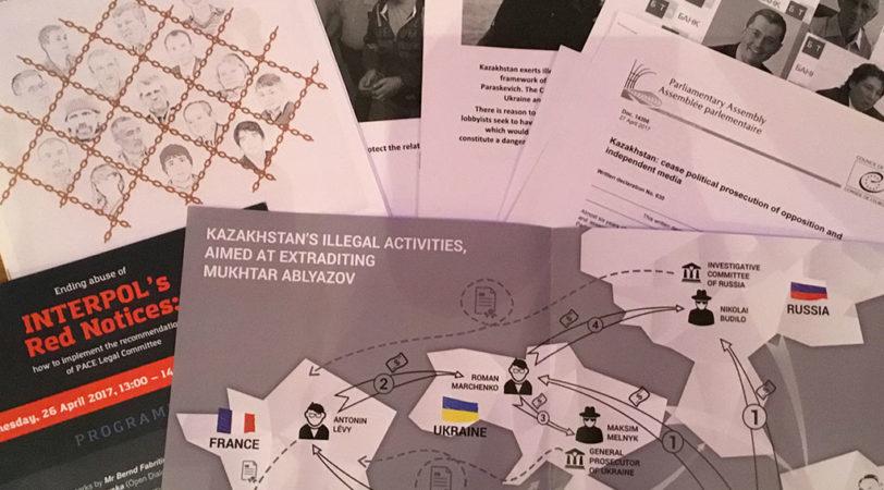 Правительство Казахстана использует Интерпол для преследования политических диссидентов в Европе
