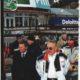 Встреча глав стран СНГ без галстуков. Справа Президент Назарбаев, слева экс-Аким (Мэр) Алматы Горнолыжный курорт Шымбулак, Алматы 2003 г.