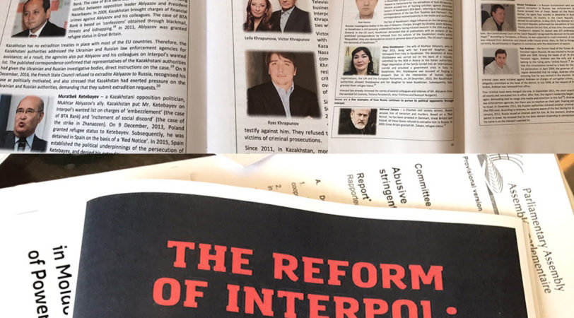 Правовая ситуация политических диссидентов из Казахстана