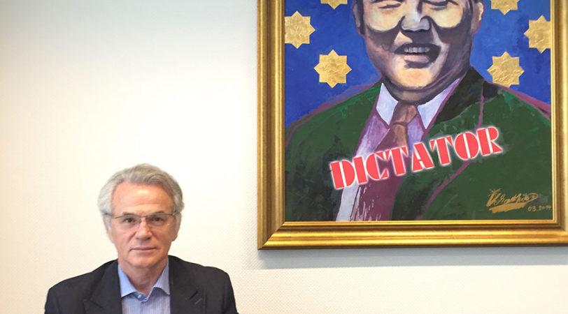 Viktor Khrapunov, homme politique et dissident kazakhstanais