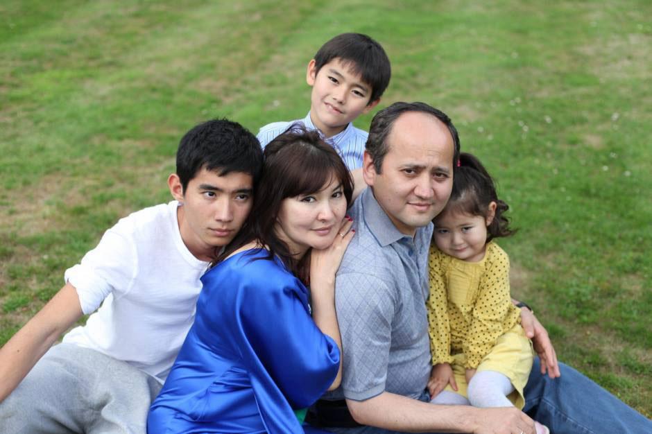 Аблязов с семьей