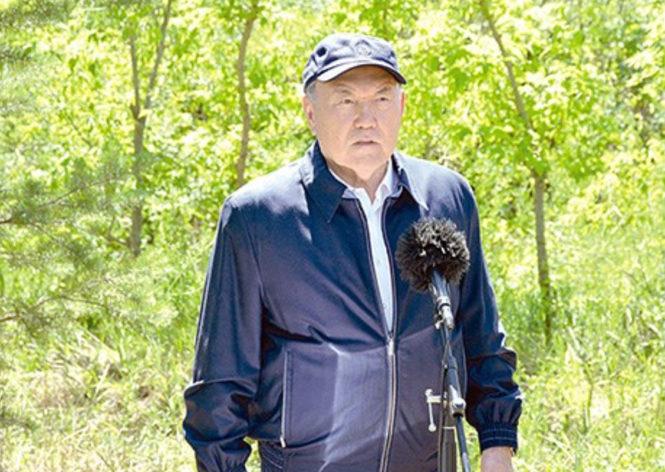 Президент Назарбаев, поклонись земле!