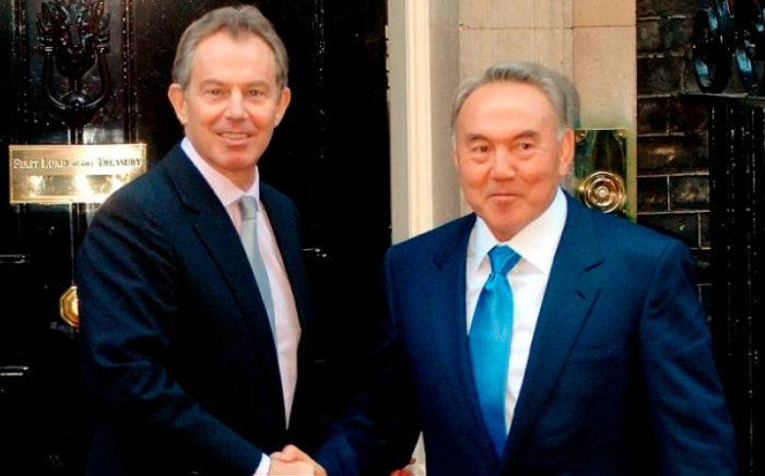Про дружбу Назарбаева с Блэром и другими политиками