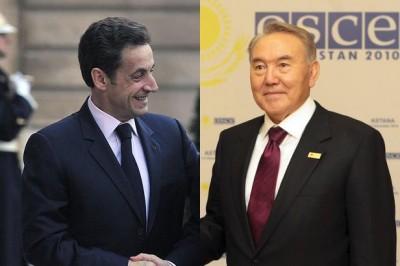 Саркози и Назарбаев