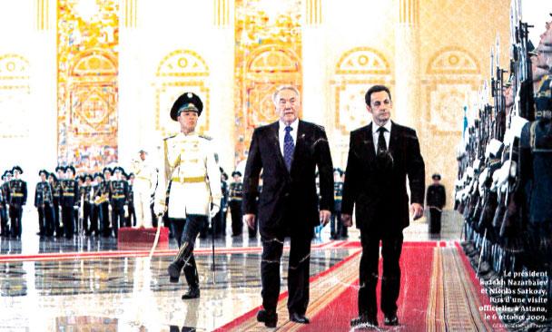 Les hélicoptères du Kazakhstan, l'affaire d'Etat qui inquiète Sarkozy
