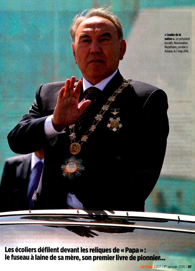 Nazarbaev 1-er, roi des steppes