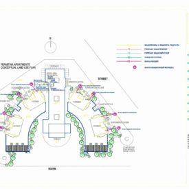 Проект строительства Апартотеля с Торгово-Развлекательным Центром на ул. Пермитина г. Усть-Каменогорск, Восточно-Казахстанская область